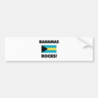 Bahamas Rocks Bumper Sticker