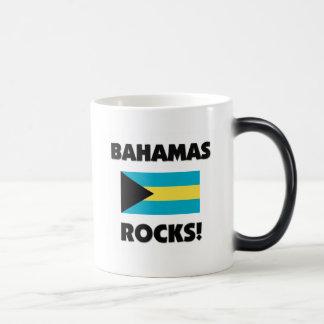 Bahamas Rocks Magic Mug