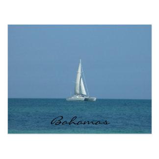 bahamas sail post card