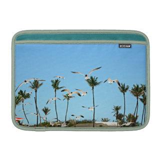 Bahamas Seagulls flying over blue skies - Mac Air MacBook Air Sleeve