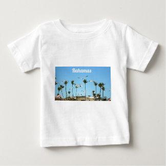Bahamas Seagulls flying over blue skies T Shirt