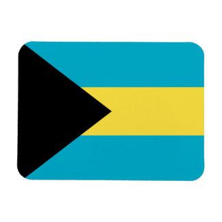 Bahamas señalan el imán por medio de una bandera s