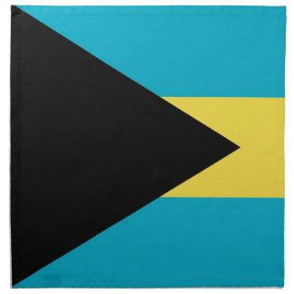 Bahamas señalan por medio de una bandera en la ser servilletas de papel