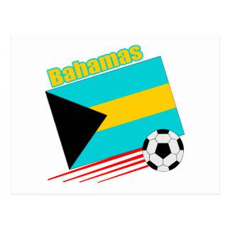 Bahamas Soccer Team Postcard