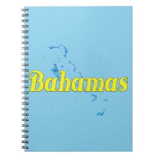 Bahamas Spiral Notebook