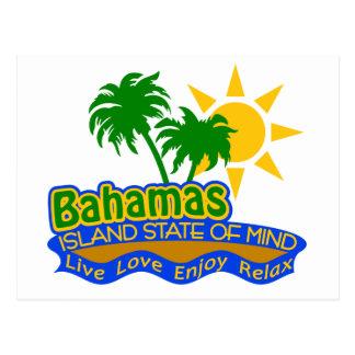 Bahamas State of Mind postcard
