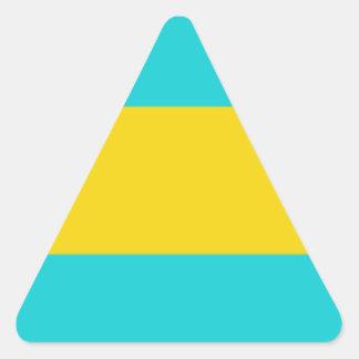 Bahamas Triangle Sticker