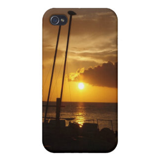 Bahamas sunset iphone case iPhone 4 covers