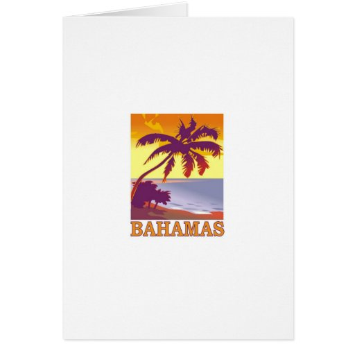 Bahamas Tarjeta De Felicitación