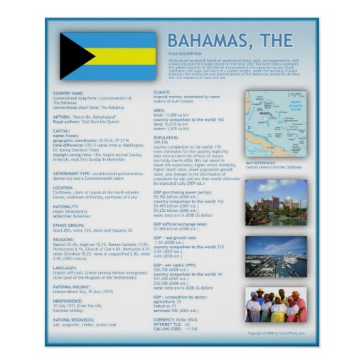Bahamas,The Print