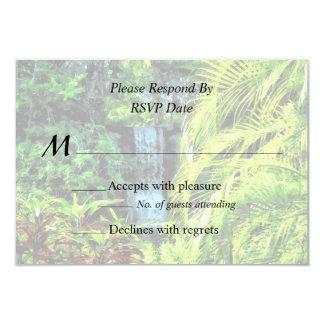 Bahamas - Tropical Waterfall Card