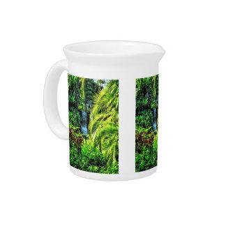 Bahamas - Tropical Waterfall Pitcher