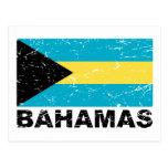 Bahamas Vintage Flag Postcards