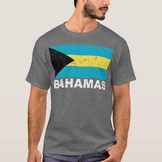 Bahamas Vintage Flag T-Shirt