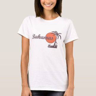 Bahamas Vintage Worn Ladies T T-Shirt