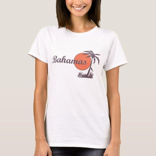 Bahamas Vintage Worn Ladies T T-Shirt