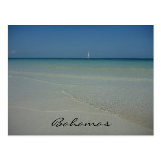 bahamas waters postcard