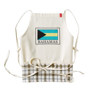 Bahamas Zazzle HEART Apron