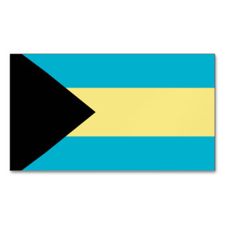 Bahamas Magnetic Business Cards (Pack Of 25)