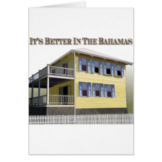 Bahamian Architecture Card