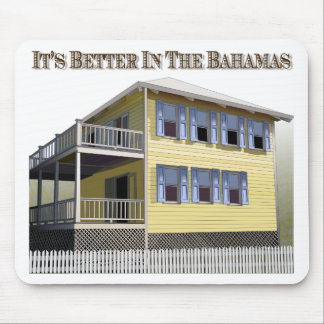 Bahamian Architecture Mouse Pad