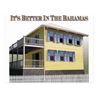 Bahamian Architecture Postcard