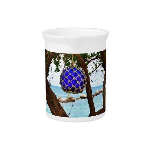 Bahamian baubles beverage pitchers