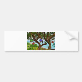 Bahamian baubles bumper sticker