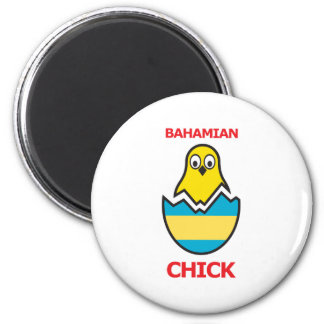 Bahamian Chick Magnet