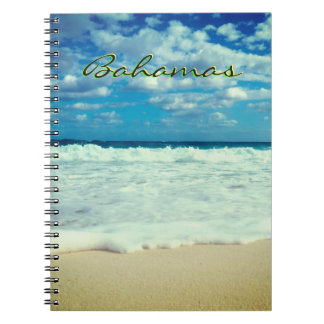 Bahamian Creamy Beach Notebook