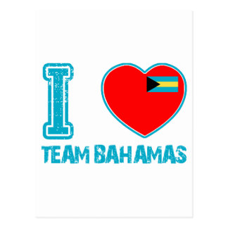 Bahamian designs postcard