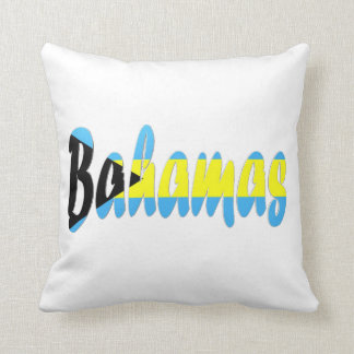 Bahamian Flag Pillow