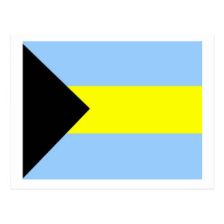 Bahamian Flag Postcard