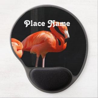 Bahamian Flamingo Gel Mouse Pad