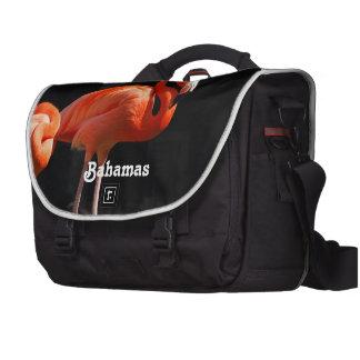 Bahamian Flamingo Commuter Bags