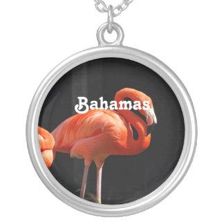 Bahamian Flamingo Personalized Necklace