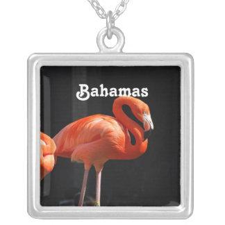 Bahamian Flamingo Custom Necklace