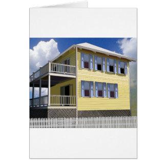 Bahamian House Card