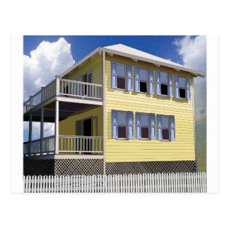 Bahamian House Postcard