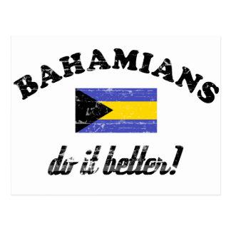 Bahamian mejora postales