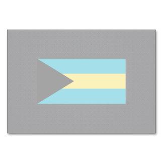 Bahamian National flag of Bahamas-01.png Table Card