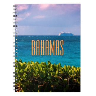 Bahamian Ocean View Notebook