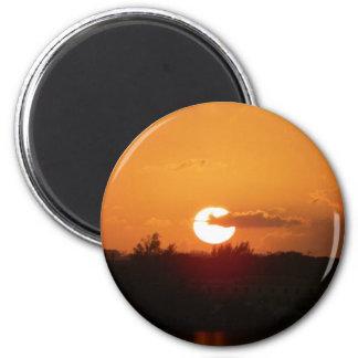 Bahamian Sunset Magnet