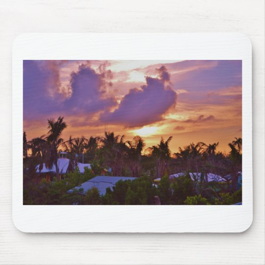 Bahamian Sunset Mouse Pad