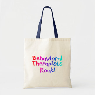 Bahaviorial Therapist Rock Tote Bag