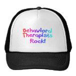 Bahaviorial Therapist Rock Trucker Hats