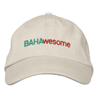BAHAwesome Embroidered Baseball Caps