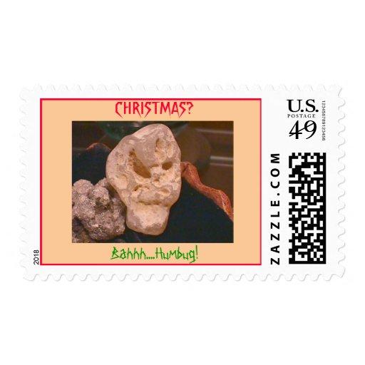 Bahhh....Humbug! Postage Stamp