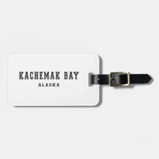 Bahía Alaska de Kachemak Etiqueta De Maleta