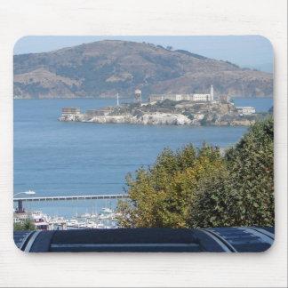 Bahía-Alcatraz de San Francisco Alfombrillas De Ratones